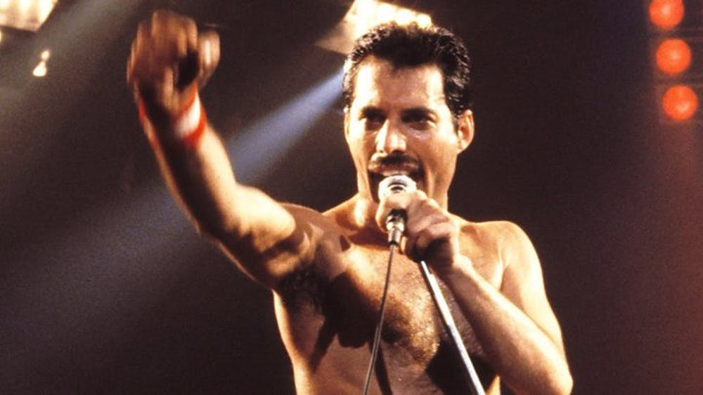 """The new """"Bohemian Rhapsody"""" movie premiered last week about the band Queen and its frontman, pictured here, Freddie Mercury. Photo provided by Wikipedia Commons."""