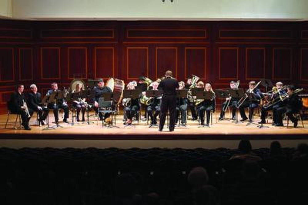 Mercer's Brass Choir will be playing a special Bear Day Brass concert on April 8 at 10:00am.