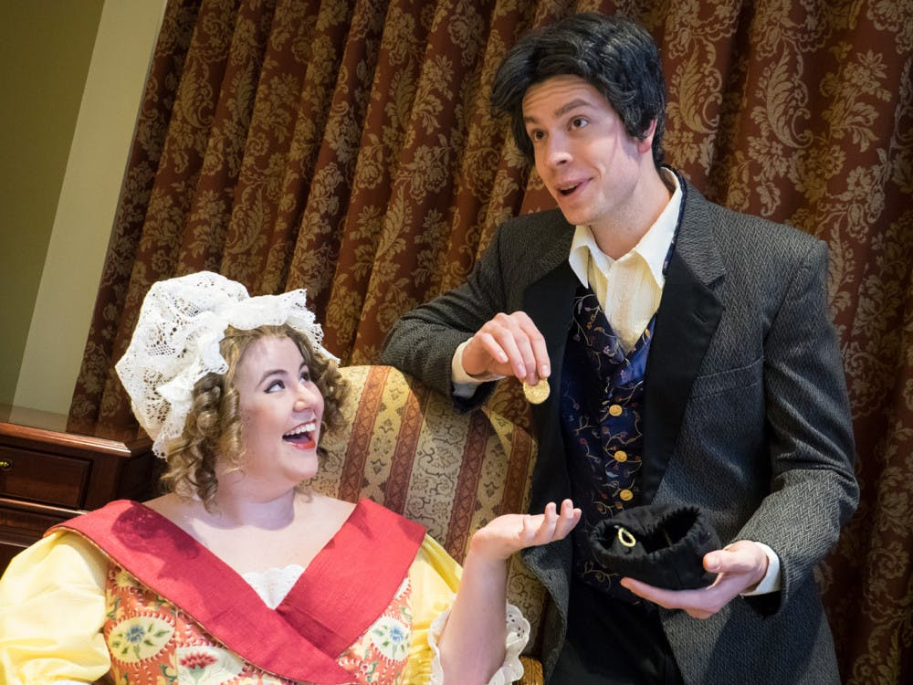 """This week the cast of 'Cosi fan tutte"""" has been in dress rehearsal preparing for their upcoming performances. Opera director Martha Malone said that the actor-singers are ready."""