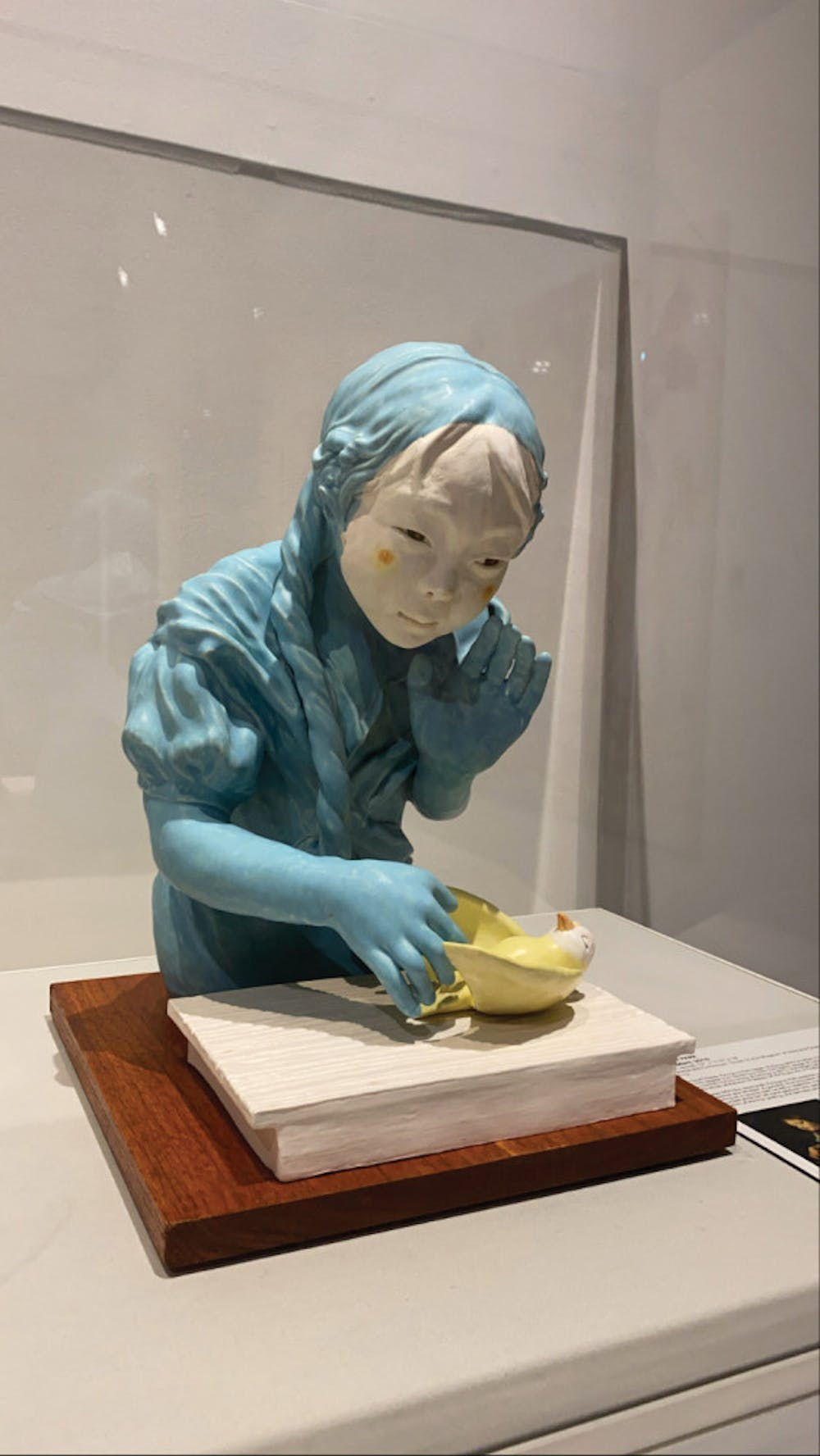"""""""L'oiseau Mort"""", a sculpture by Kyungmin Park, is currently on display at The Museum of Arts and Sciences in Macon, Ga. on Feb. 25."""