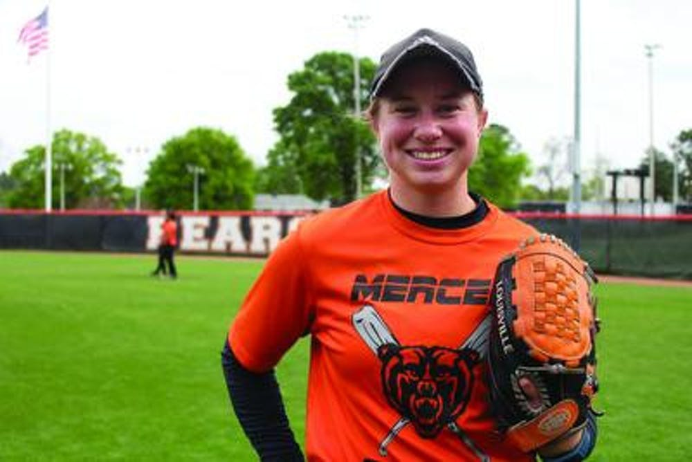 Kaytlin Haney, a senior, has played softball for Mercer University since her freshmen year. She is an outfielder.