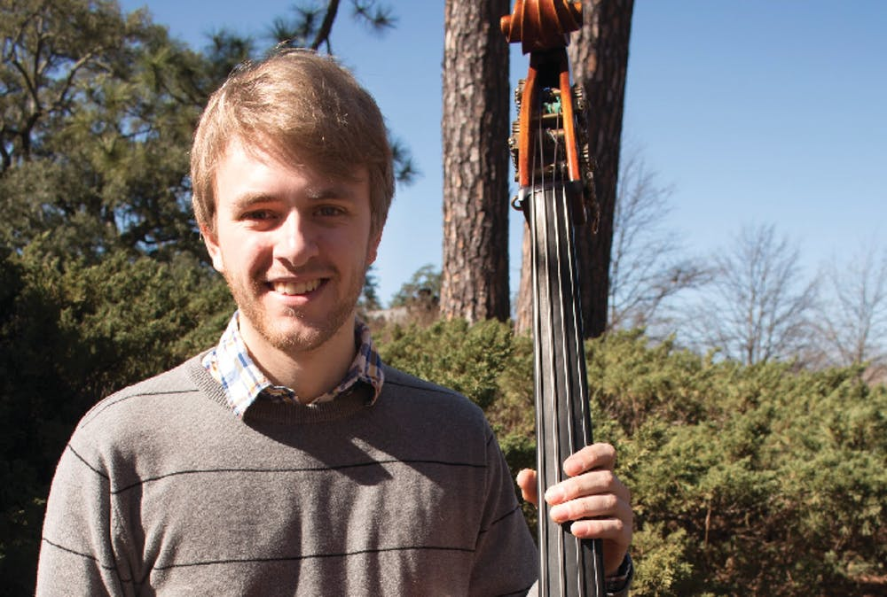 Mattias Palm is a senior double bass player with a performance major at Mercer University.