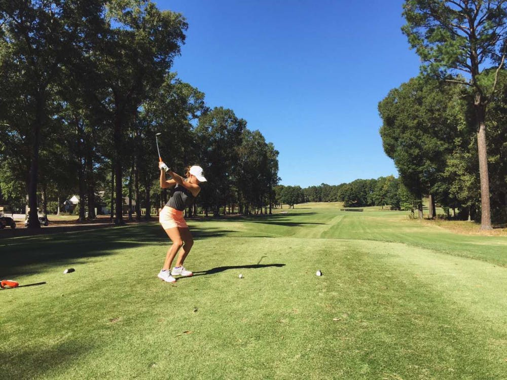 Mary Janiga's life has been intertwined with golf since she was born, as she was named after one of the golf courses that hosts The Masters Tournament in Augusta, Georgia.