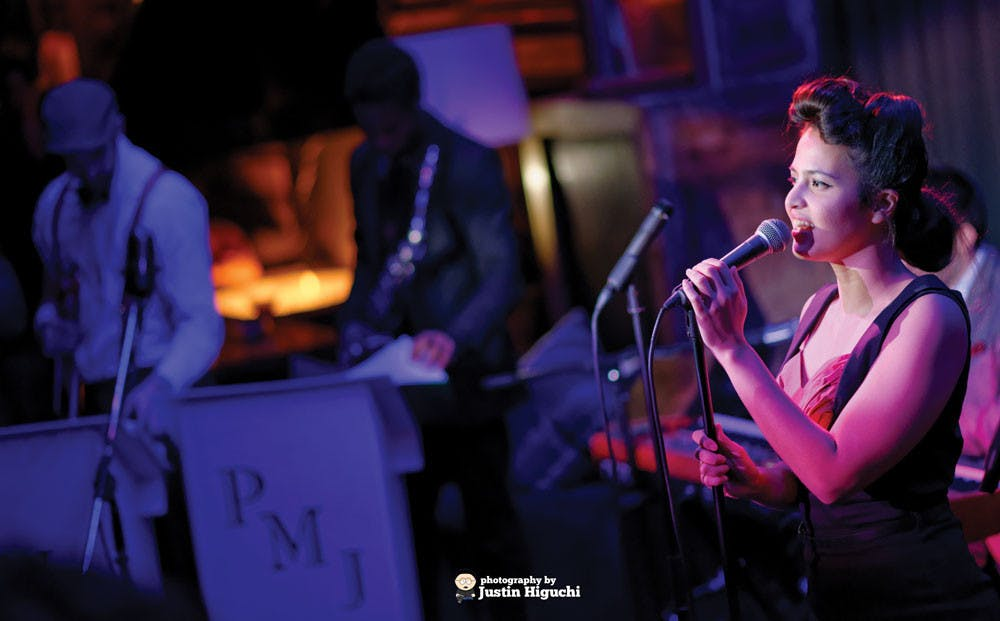 Cristina Gatti at Postmodern Jukebox at Hyde Sunset.