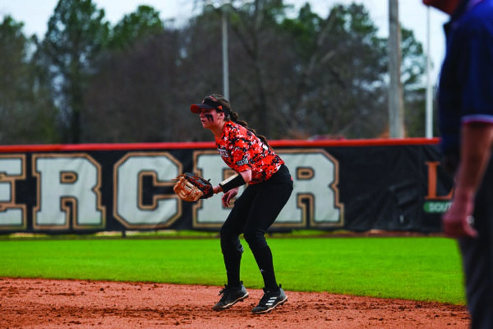 Junior Danielle Castleberry (No. 31) has made a triumphant return to the diamond after missing last season with an injury.