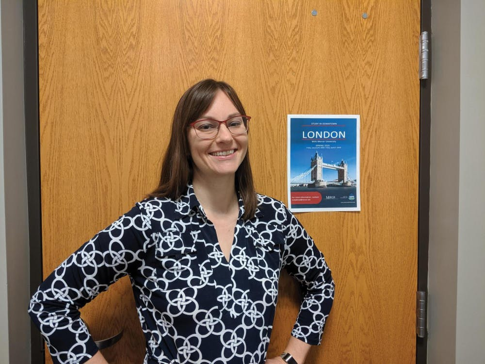 Dr. Amy Borchardt is hoping to lead a study abroad trip to London, England next semester.