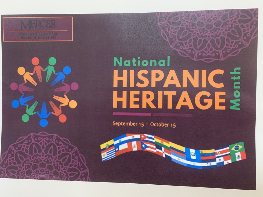 <p>The Office for Diversity and Inclusion Initiatives poster for Hispanic Heritage Month. </p>