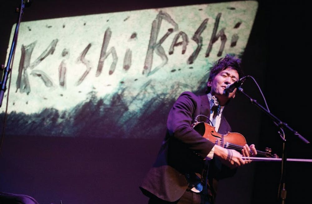Kishi Bashi's unique talents as a violinist and singer shined during a recent concert.