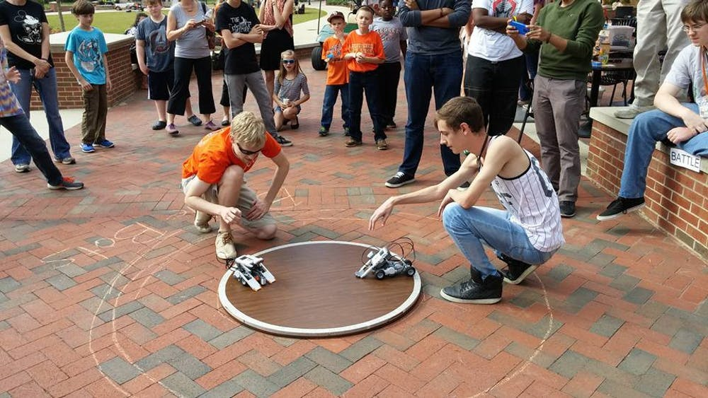 Mercer's Battle Bot Bear's Competition will take on Mercer's Battle Bot Bears Competition Preliminary round Oct. 24