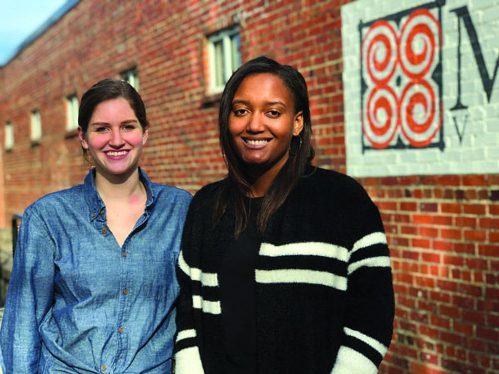 Seniors Kelly Caviness and Devyn Harrod, Mercer Film Society's first two executive board members, hope to bring a stronger film presence to Mercer's campus.