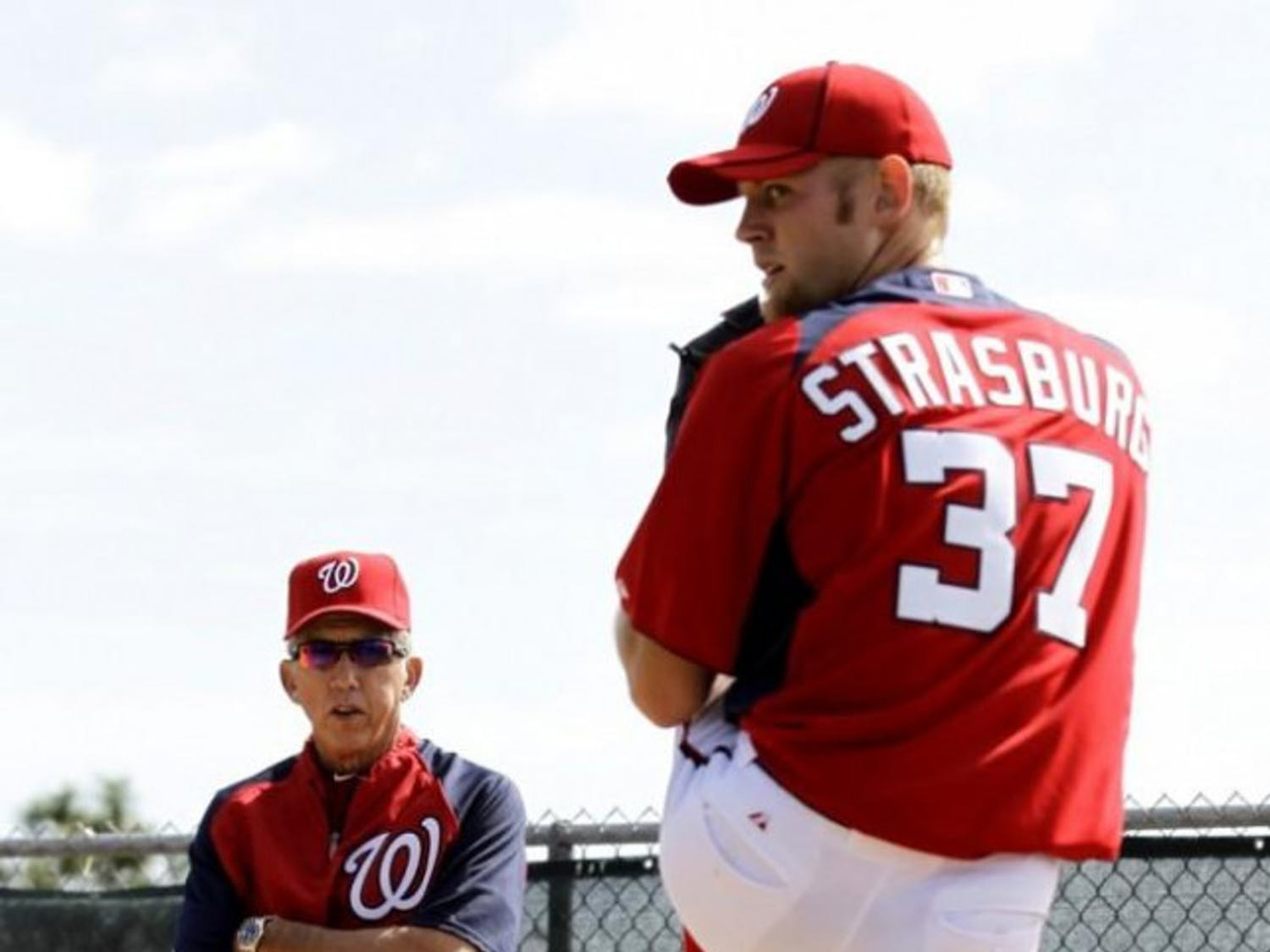 Nationals-pitcher-and-coach