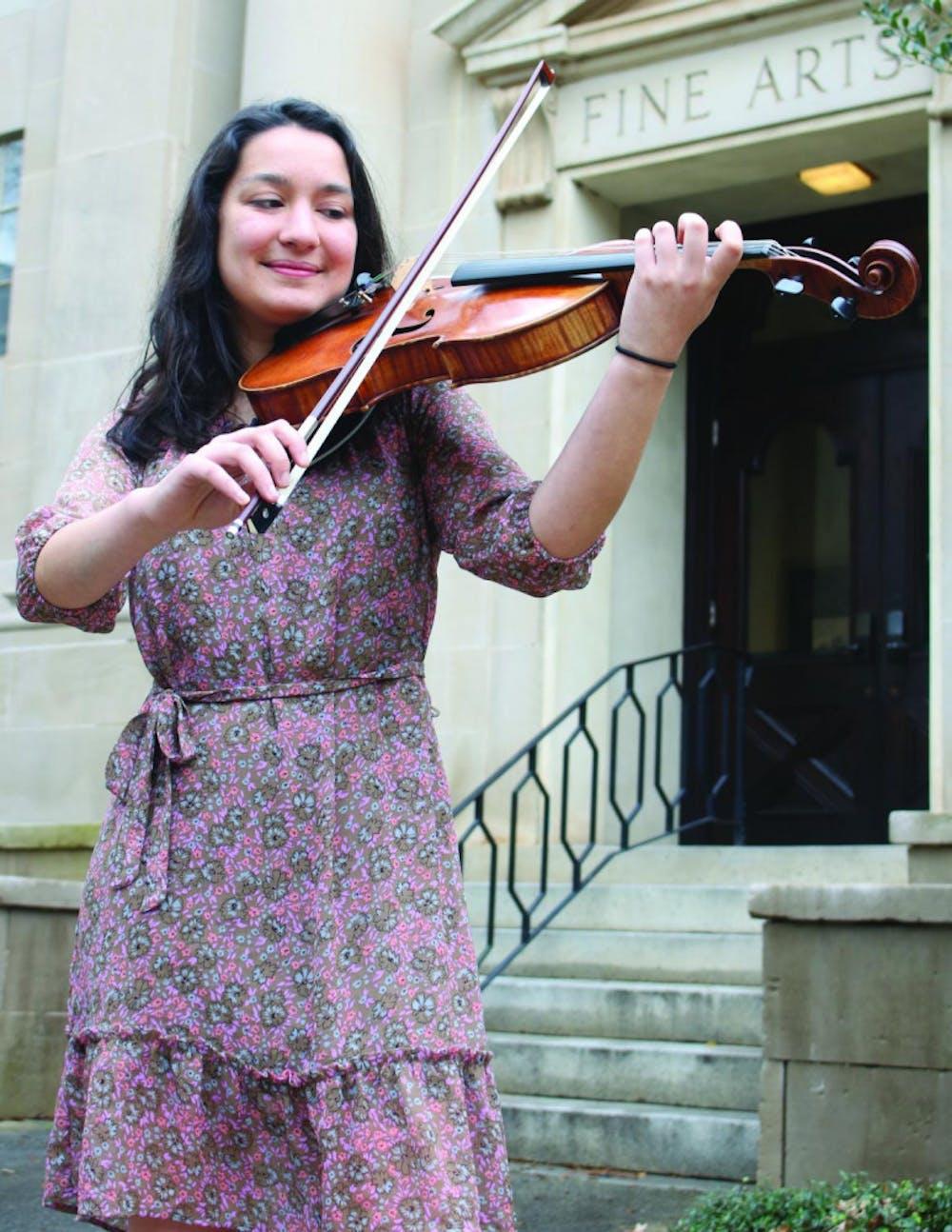 Julia Swain is a Music Performance major at Mercer.