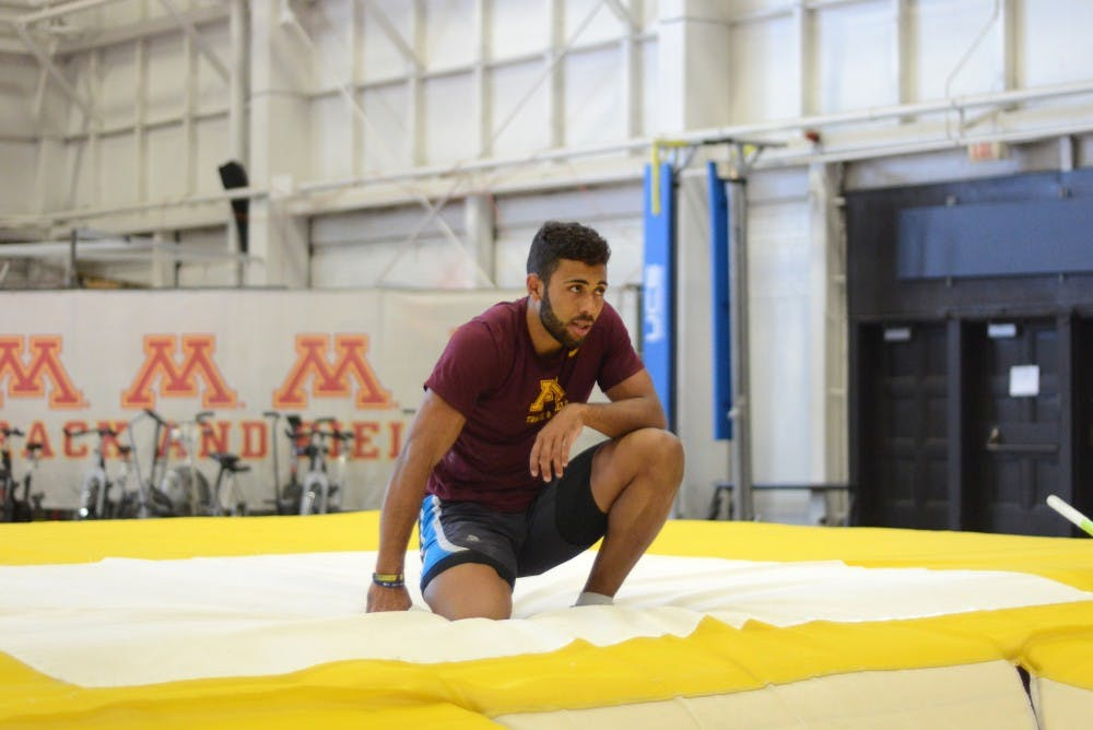 From Germany to Oregon, Gophers decathlete  looks to end collegiate career strong