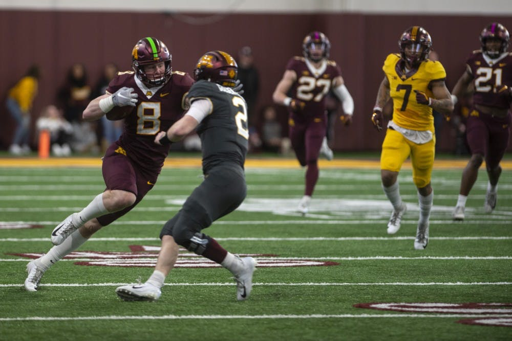 Gophers give a sneak preview of next season with spring game