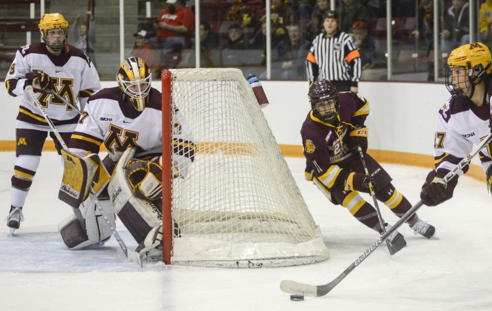 Once atop the WCHA, a struggling Gophers and Bulldogs meet in rivalry game