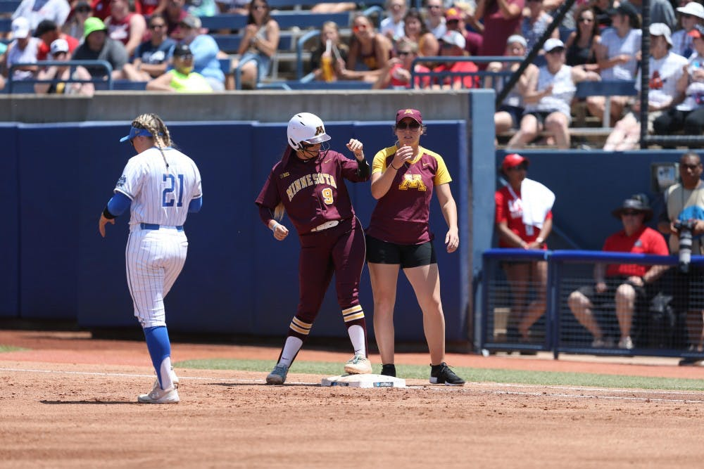 'We made history this year': Minnesota's softball season ends with loss to Washington