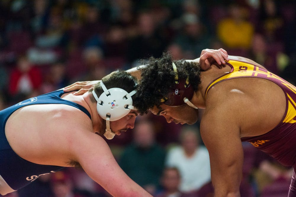 Gophers wrestling boasts a bright future for this season and beyond