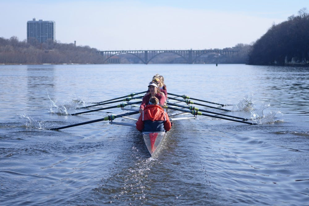 Fate leads Kortney Luedloff to Gophers rowing success