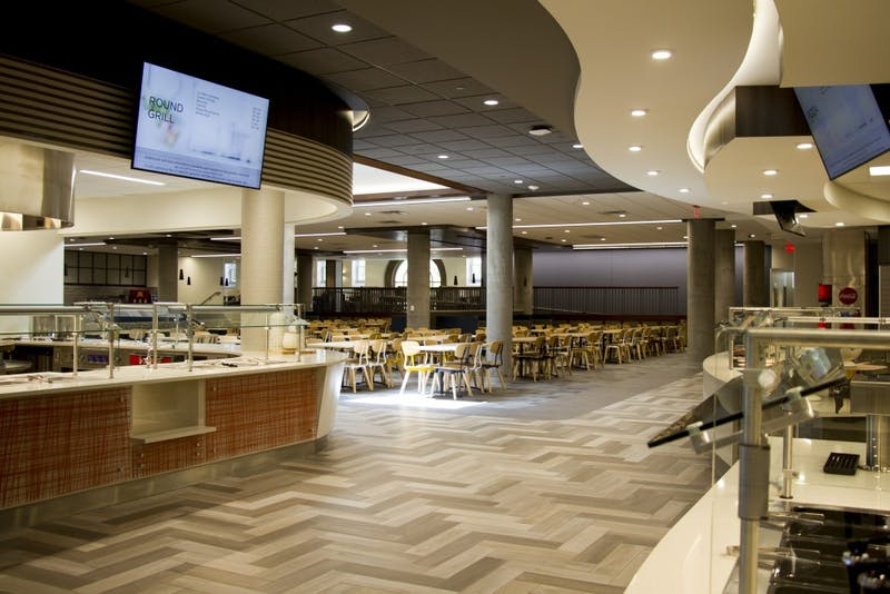 Pioneer Hall's newly renovated dining hall as seen on Wednesday, Aug. 21.
