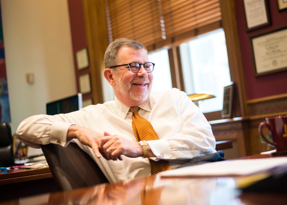 Kaler talks Prince, tuition increase and higher-ed bill