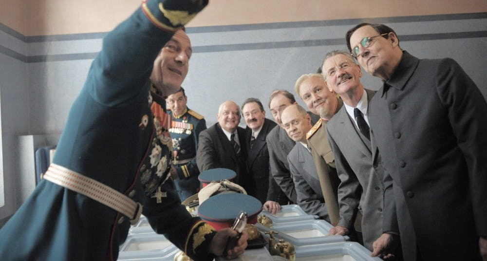 Review: 'The Death of Stalin' seizes the memes of destruction
