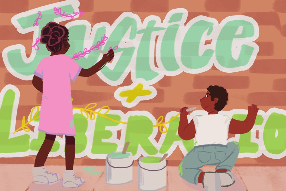 Muralists team up to paint a brighter future
