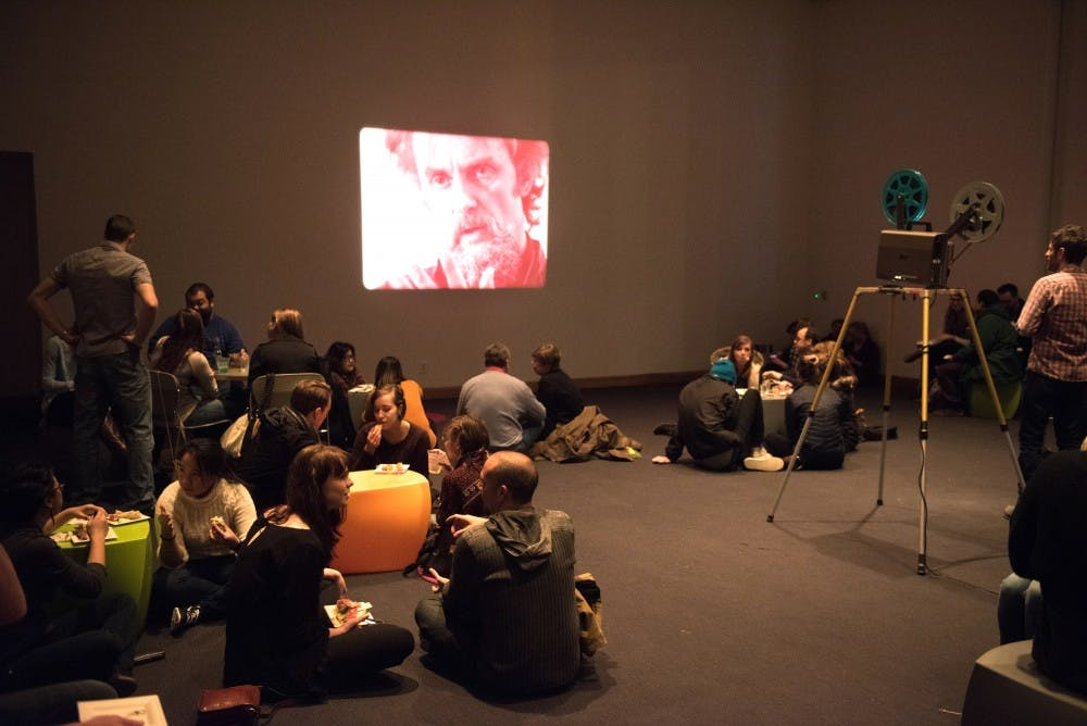 Students get the silver screen at the Weisman
