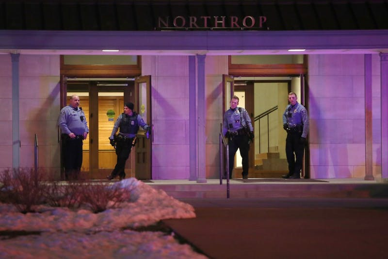 The Minneapolis Police Department and University of Minnesota Police Department responded to a disturbance at Northrop following the Somali Student Association's Somali Night 2018 event on Friday, April 20.