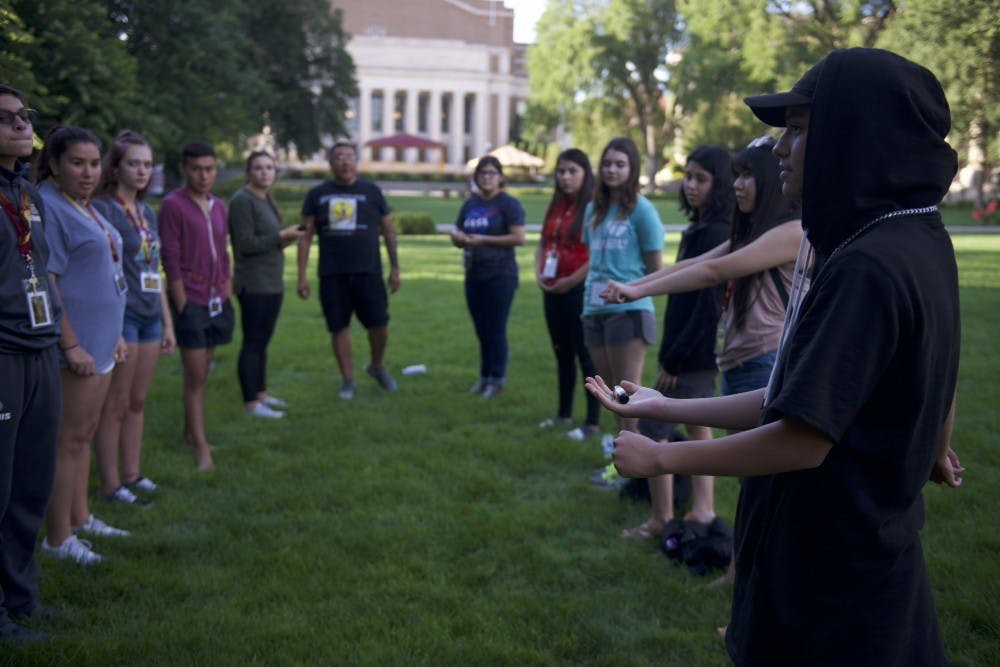 Native American high schoolers explore UMN, campus life at new summer camp