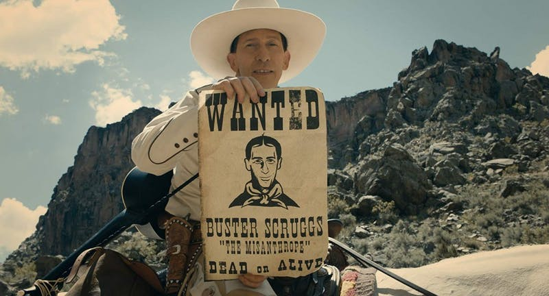 Tim Blake Nelson in The Ballad of Buster Scruggs.