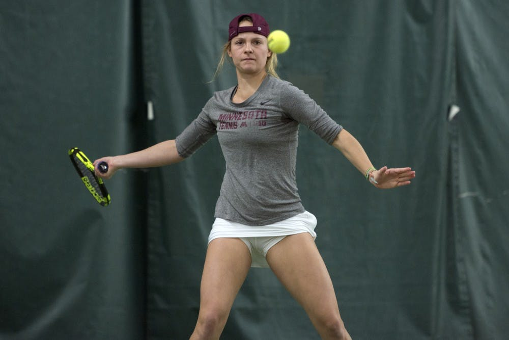 As Bita Mancera's tennis days are coming to an end, growth is evident