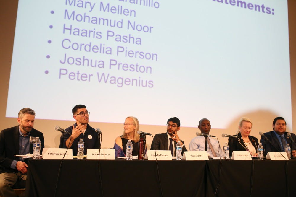 Candidates engage with community at 60B forum