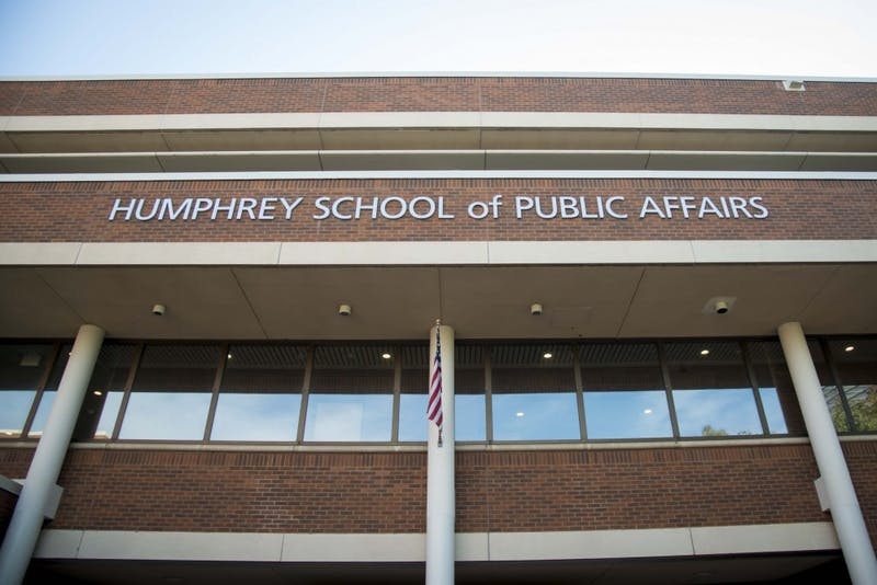 The Humphrey School of Public Affairs as seen on Thursday, Sept. 19.