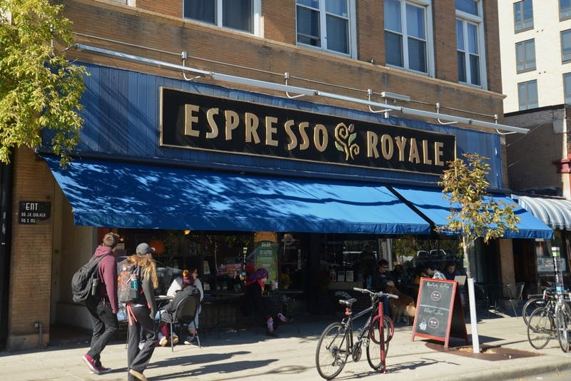 Espresso Royale coffee shop in Dinkytown on Oct. 9, 2016.