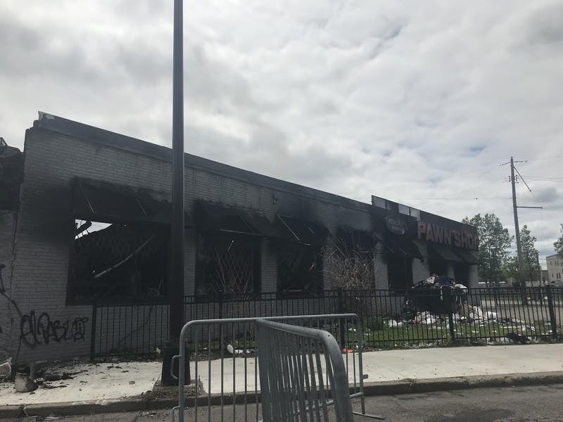 MaX it PAWN was among the businesses extensively damaged in Thursday's riots. Cedar-Riverside is the southernmost University-area neighborhood, making it closer to where the first protests began.