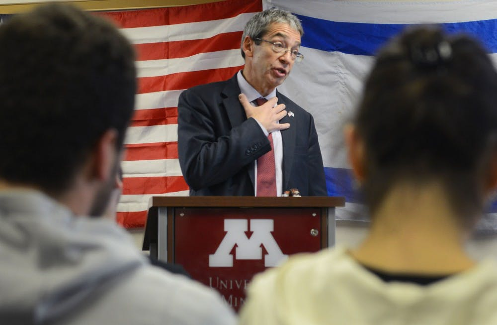 Eventful week brings campus discussion of Israel and Palestine into focus
