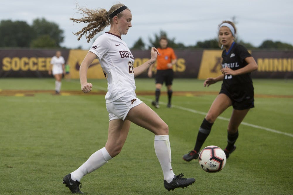 Minnesota advances to Big Ten final