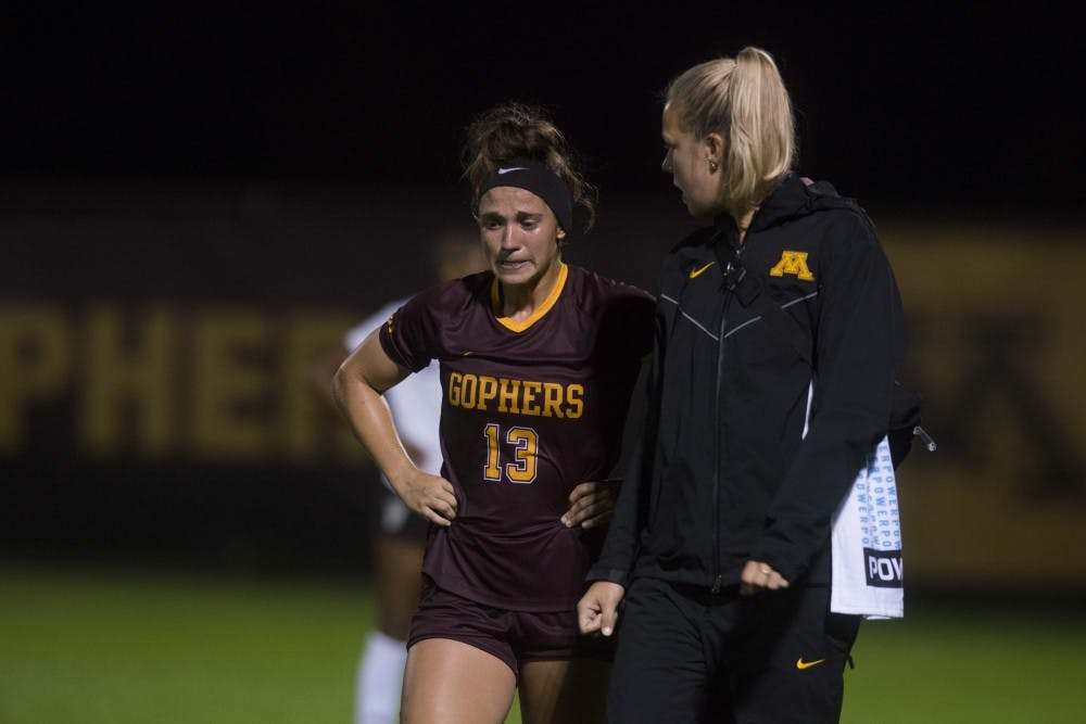 Gophers fail to climb in Big Ten standings after 0-1 loss to Indiana