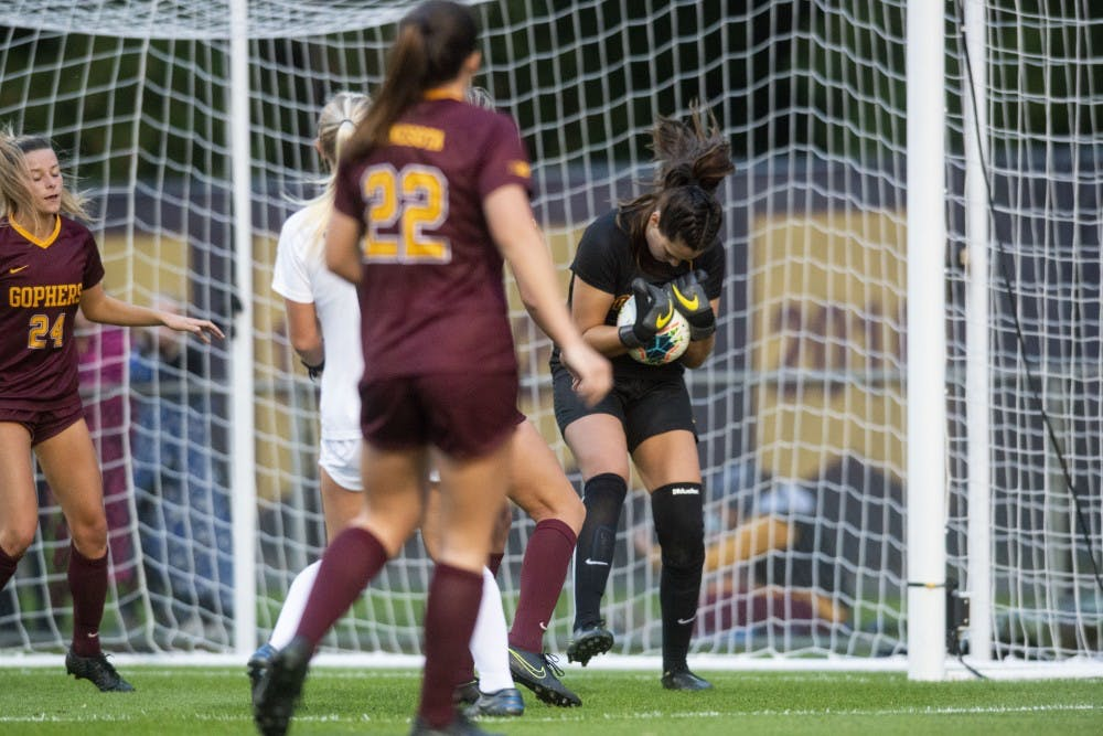 Gophers lose 0-1 to top-ranked Wisconsin