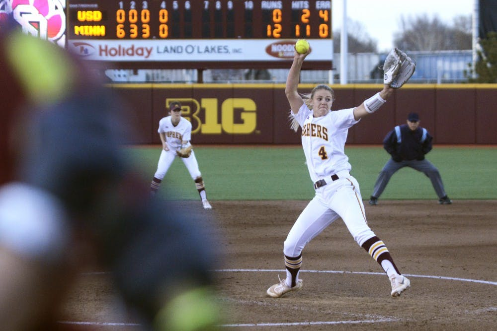 Gophers open season by winning two out of three