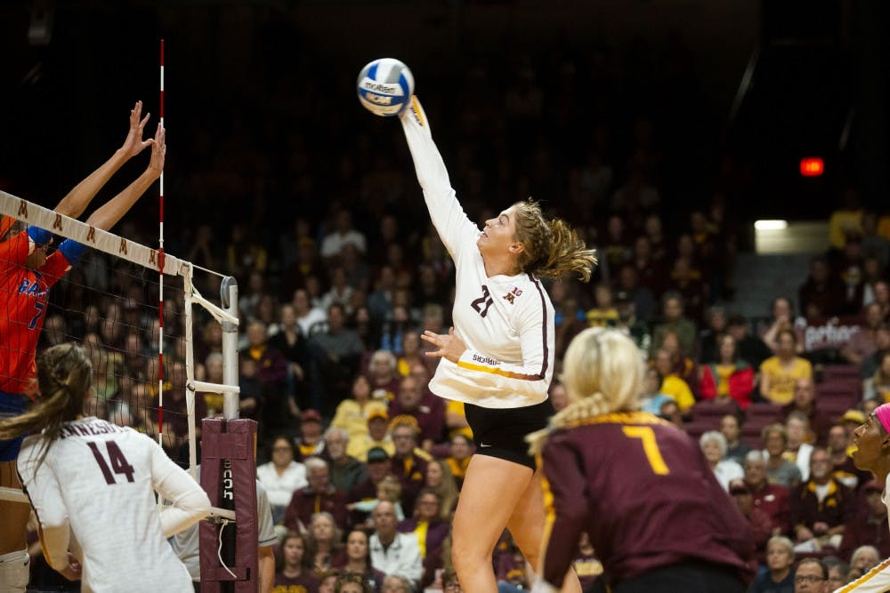 Gophers close out first half of conference season with a win at Michigan State