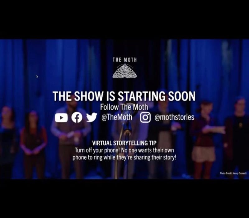 """The show consisted of eight storytellers, each with a personal story that was five to six minutes long. This year's theme is """"do-overs."""""""