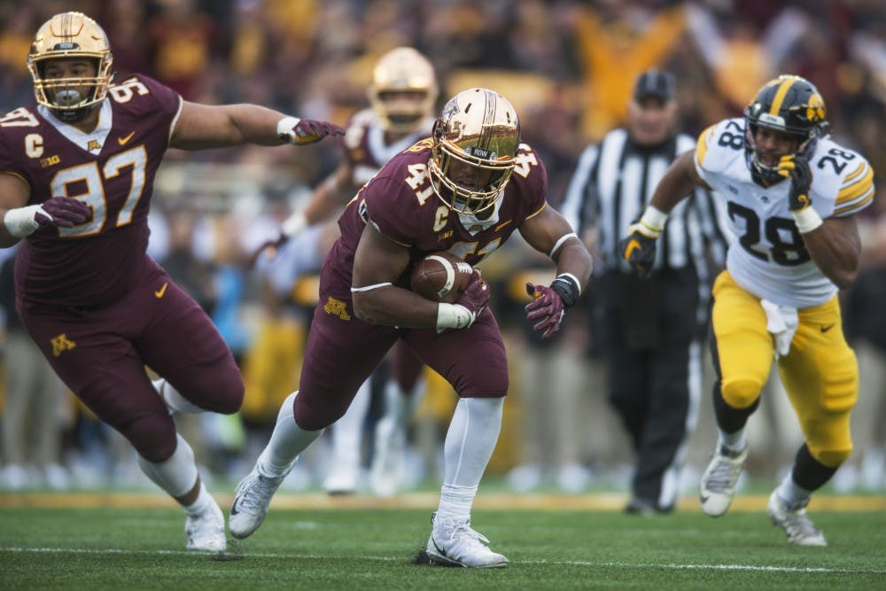 Coming from a lineage of Gophers, Thomas Barber is among team's senior leaders