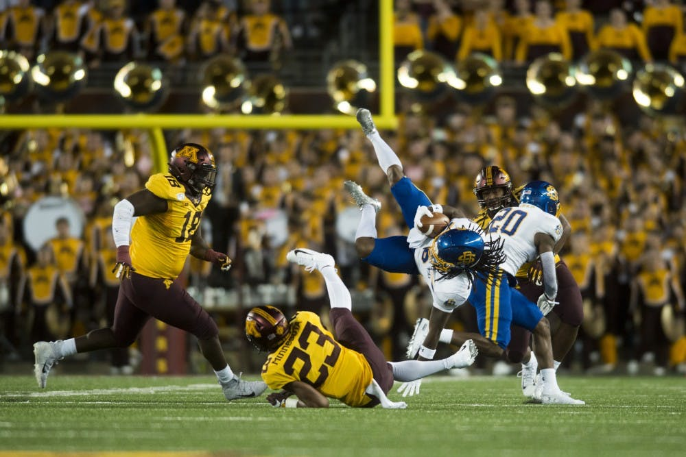 Gopher run defense to see heightened competition in Big Ten play