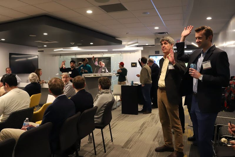 The University of Minnesota's Technology Commercialization hosts an open hour for Discovery Launchpad which is the new incubator to help researchers launch companies based off innovation on Tuesday, March 12 at McNamara Alumni Center.
