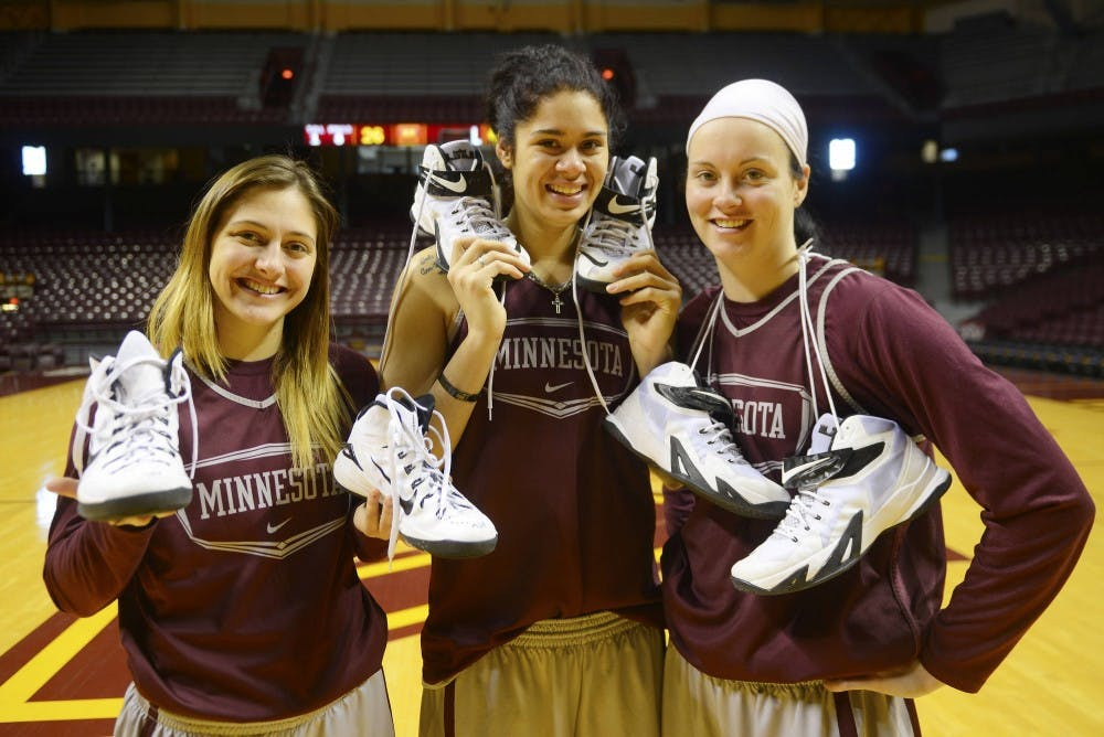 Gophers bare their soles
