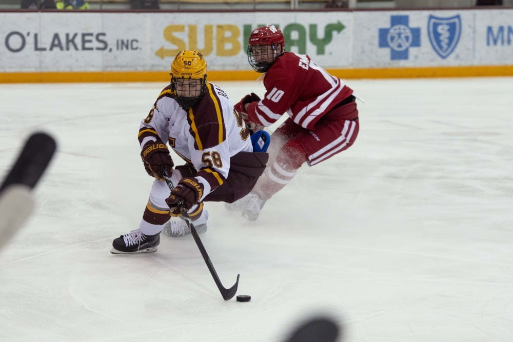 Late scoring flurry gives Minnesota 9-4 victory over Wisconsin