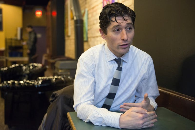 Ward 3 Council Member Jacob Frey sat down for an interview with the Minnesota Daily on Tuesday, Jan. 25, 2017 at Taraccino Coffee. Frey talked about affordable housing on campus, jobs and his run for mayor.