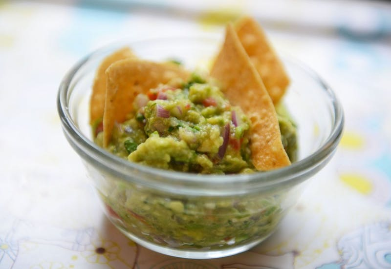 Quick and spicy guacamole from scratch.