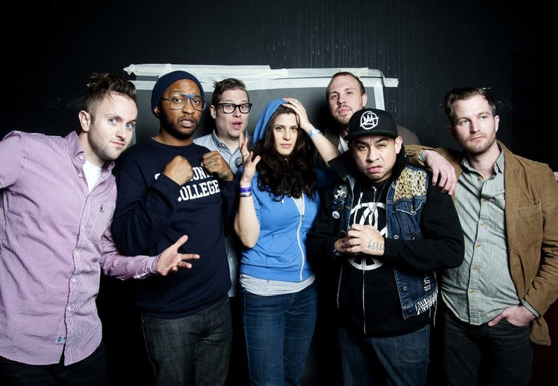 The music group Doomtree.